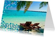 Vakantiekaart Aruba
