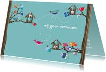 Verhuiskaarten - Verhuiskaart ieder z'n eigen weg
