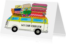 Verhuiskaart VW Bus PA