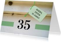 Verjaardagskaarten - Verjaardagskaart - huisnummer