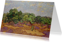 Vincent van Gogh. Landschap met boomgaard