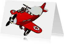 Vliegtuigje speelgoed - OT