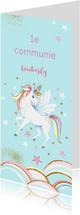 Eerste communie unicorn