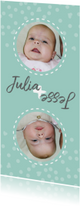 Geboorte tweeling gedraaid