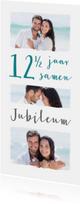 Jubileum collage 12 1/2 jaar 3 foto's