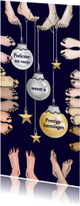 Zakelijke kerstkaarten - Kerst - pedicure