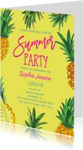 Uitnodigingen - 50 jaar tuinfeest Ananas