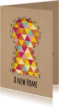Verhuiskaarten - A new home - DH