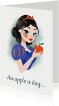 Beterschapskaarten - An apple a day... - KO