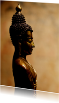 Religie kaarten - Ansichtkaart  Buddha Beeld - OT