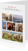 Vakantiekaarten - Ansichtkaarten, MM, Portugal