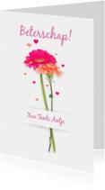 Beterschapskaarten - Beterschap bloemen A RB