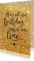 Verjaardagskaarten - Birthday wishes - BF