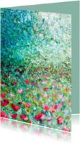 Bloemenkaarten - bloemen schilderij Weelde rh