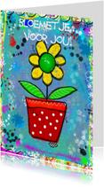 Bloemenkaarten - Bloemetje CYL