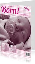 Felicitatiekaarten - Born! II