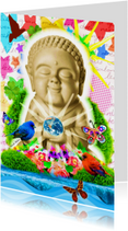 Buddha illustratie