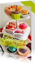 Kaarten mailing - Cadeaubon High Tea - DH