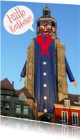 Carnavalskaarten - Carnavalskaart Peperbus