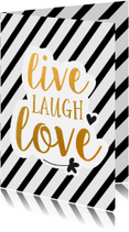 Coachingskaarten - Coaching live laugh love