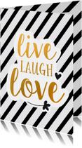 Coachingskaarten - Coaching live laugh love