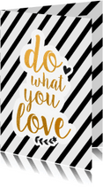 Coachingskaarten - Coachingskaart do what you love
