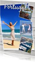 Vakantiekaarten - Collage Portugal - BK