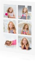 Ansichtkaarten - Collagekaart 6 foto's - DH