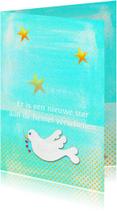Condoleancekaarten - Condoleance kaart Sterretje PA
