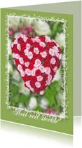 Condoleancekaarten - Condoleancekaart - Rozenhart