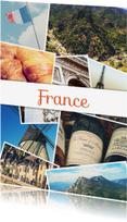 Vakantiekaarten - De groeten... France - DH