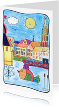 Ansichtkaarten - de groeten uit Breda