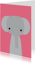 Dierenkaarten - Dierenkaart Olifantje