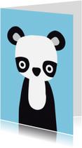 Dierenkaarten - Dierenkaart Pandabeer