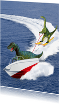 Ansichtkaarten - dino waterski