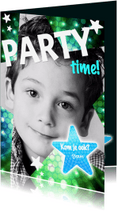 Kinderfeestjes - Disco - kinderfeestje jongen