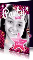 Kinderfeestjes - Disco - kinderfeestje meisje