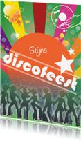 Kinderfeestjes - Discofeest met eigen naam of tekst