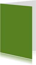 Blanco kaarten - Donker groen dubbel staand