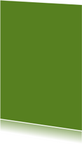 Blanco kaarten - Donker groen enkel staand