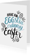 Paaskaarten - Eggstraordinary easter - EM