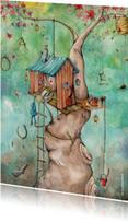 Felicitatiekaarten - Eigen droomhuis