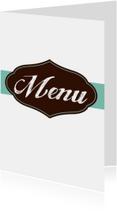 Menukaarten - Elegance menukaart