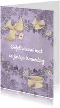 Felicitatiekaarten - Felicitatie huwelijks jubileum