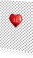 Felicitatiekaarten - Felicitatie jubileum hart en stippen jaren zelf invullen
