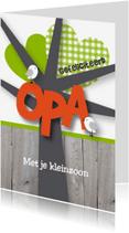 Felicitatiekaarten - Felicitatie opa happy birds