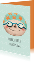 Geslaagd kaarten - Felicitatie Zwemdiploma Hoera!