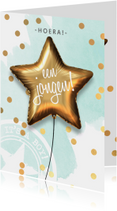 Felicitatiekaarten - Felicitatiekaart geboorte baby jongen