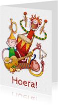 Felicitatiekaarten - Felicitatiekaart Muziek