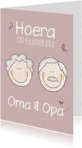 Felicitatiekaart Opa en Oma LFZ